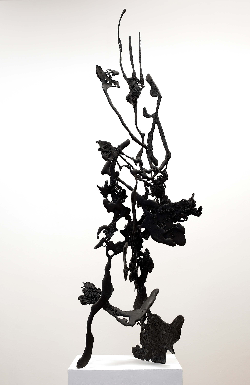 Charred (Bronze) W:46cm x H:140cm x D:37cm