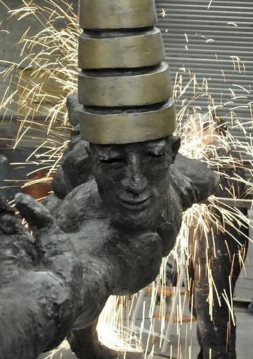 Contemporary British Sculpture-Dunamis-Park-Lane-London-Bushra-Fakhoury(web)