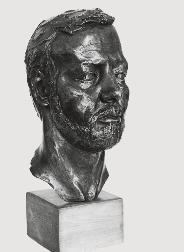 Barrie Gage (Bronze-Resin) 47cm x 19cm x 22cm 1 copy