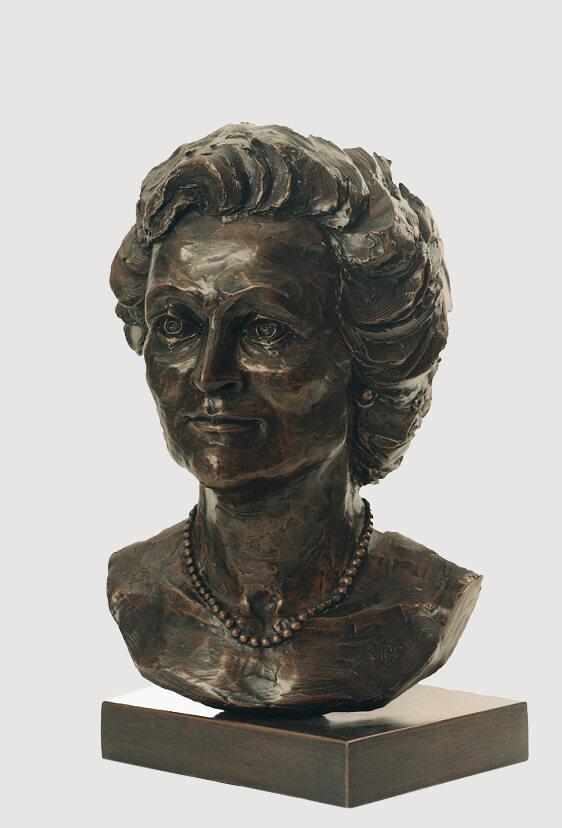 Caroline Melivin Smith (Bronze-Resin) 55cm x 25cm x 33cm copy