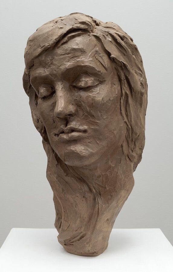 Florence O'Connor (Bronze-Resin) 57cm x 26cm x 25cm