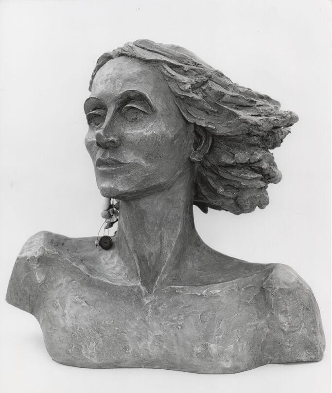 Joumana Mourad (Bronze-Resin) 42cm x 46cm x 26cm