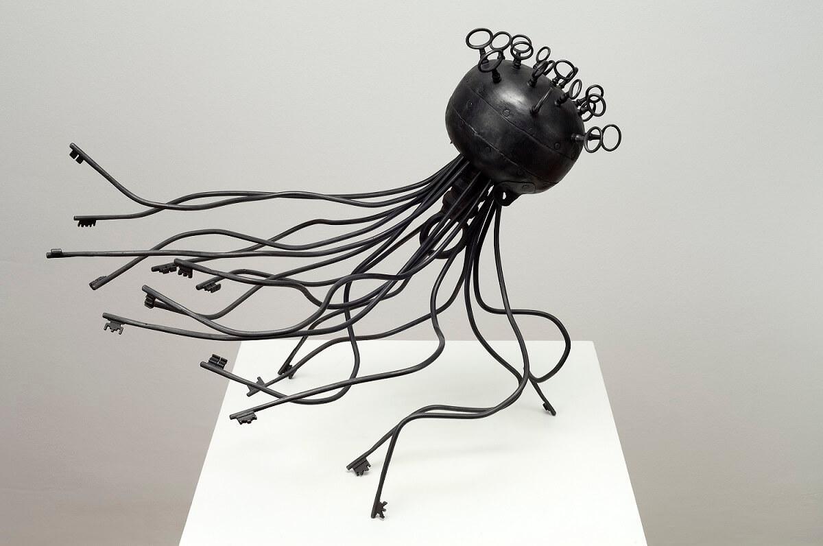 Octopus (Metal) 51cm x 63cm x 48cm