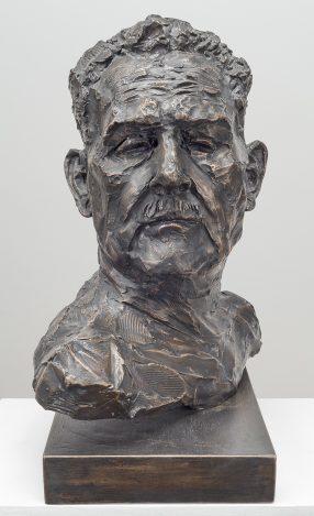 Stanislaw Frankiel (Bronze-Resin) 54cm x 47cm x 27cm