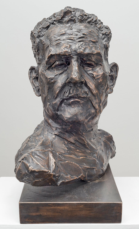 Stanislaw Frankiel (Bronze-Resin) 54cm x 47cm x 27cm1