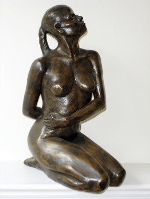 Angela (Bronze-Resin) 45cm x 19 cm x 29cm