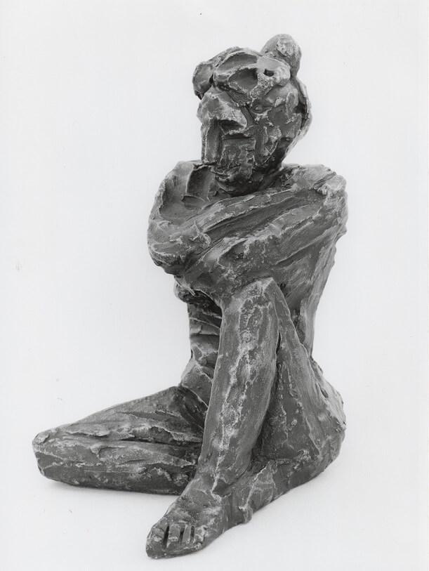 Anna (Bronze-Resin) 22cm x 13cm x 14cm
