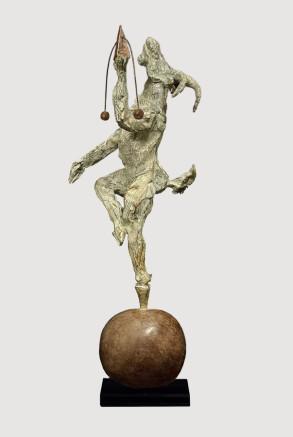 Balancing Act (Bronze) W40cm x H60cm x D13cm copy