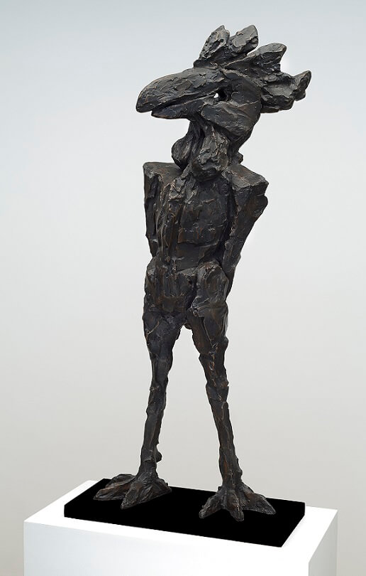 Basilisk (Bronze) W48cm x H107cm x D26cm