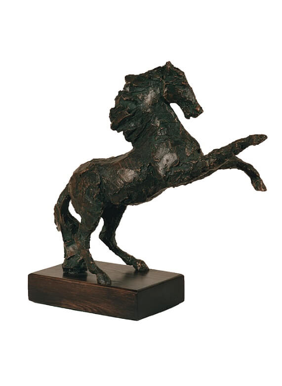 Bolting Horse (Bronze Resin) 41cm x 50cm x 18cm