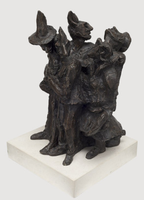Carnival (Bronze-Resin) 25cm x 57cm x 28cm copy