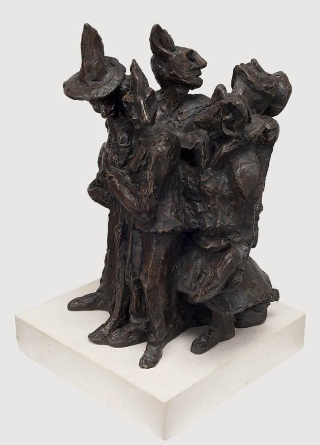 Carnival (Bronze-Resin) 25cm x 57cm x 28cm copy