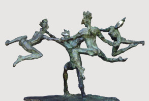 Danse Gwenedour (Bronze) 41cm x 60cm x 43cm copy