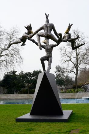 Danse Gwenedour - A Celebration of Life (7 meters x 5 meters x 5 meters)