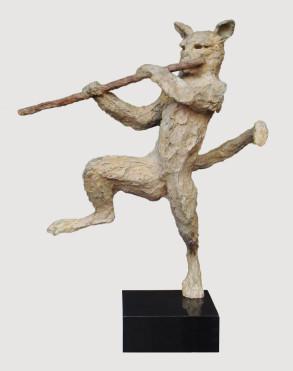 Dresden Musician (Bronze) W58cm x H70cm x D23cm copy