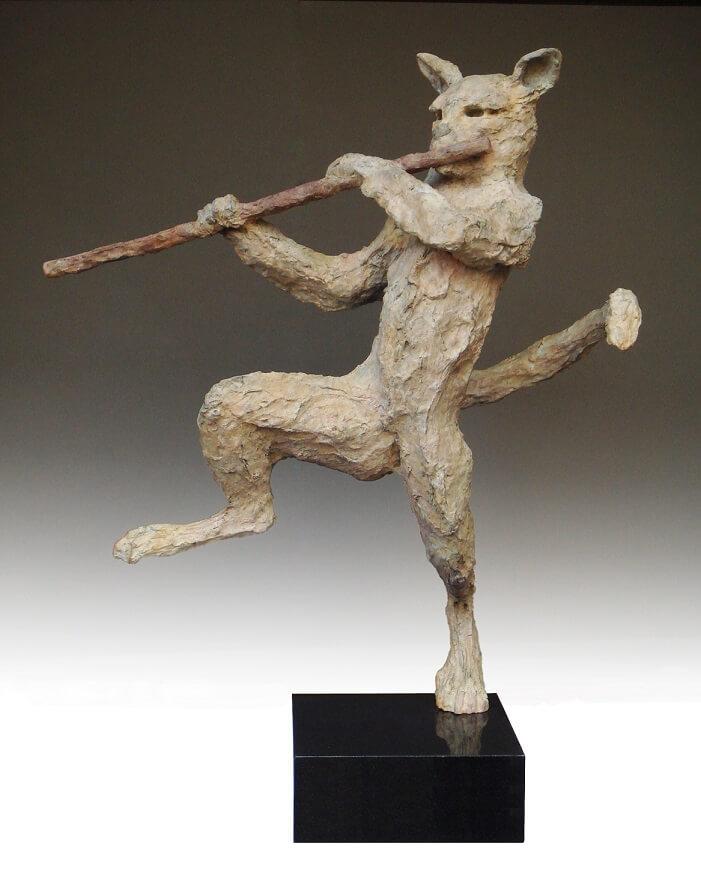 Dresden Musician (Bronze) W58cm x H70cm x D23cm