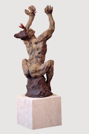 Euphoria (Bronze) 22cm x 54cm x 15cm copy
