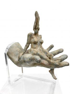 Female Resting (Bronze) H37cm x W 38cm x D20cm