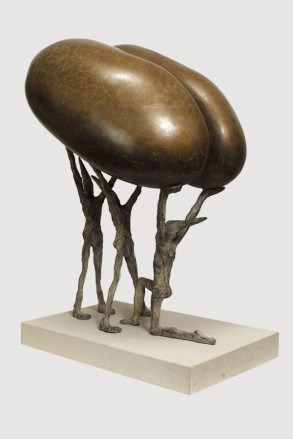 Fertilitas (Bronze) 26cm x 47cm x 33cm copy