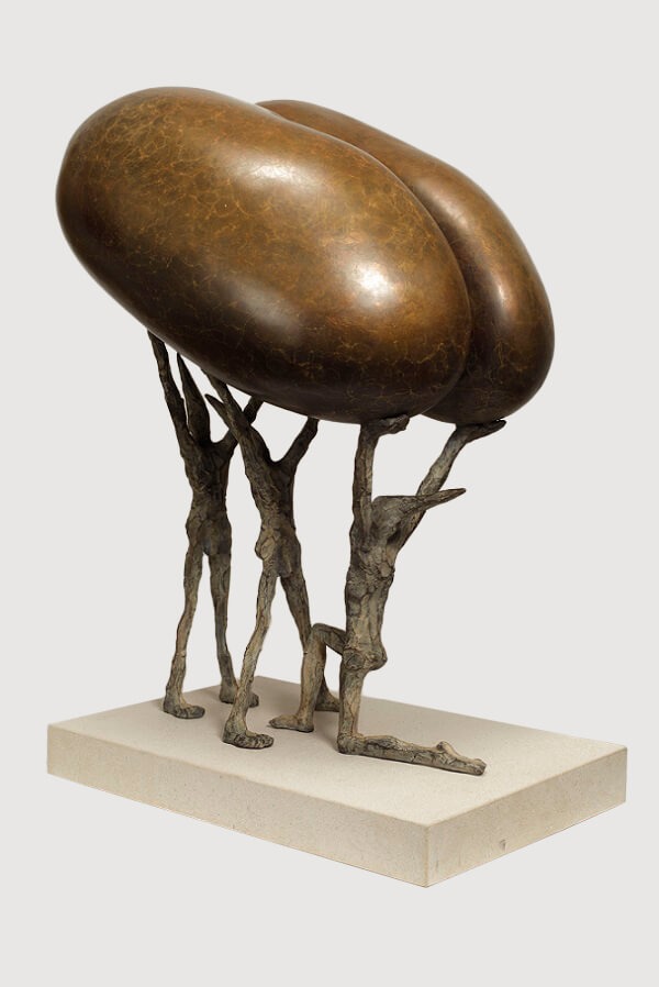 Fertilitas (Bronze) 26cm x 47cm x 33cm copy