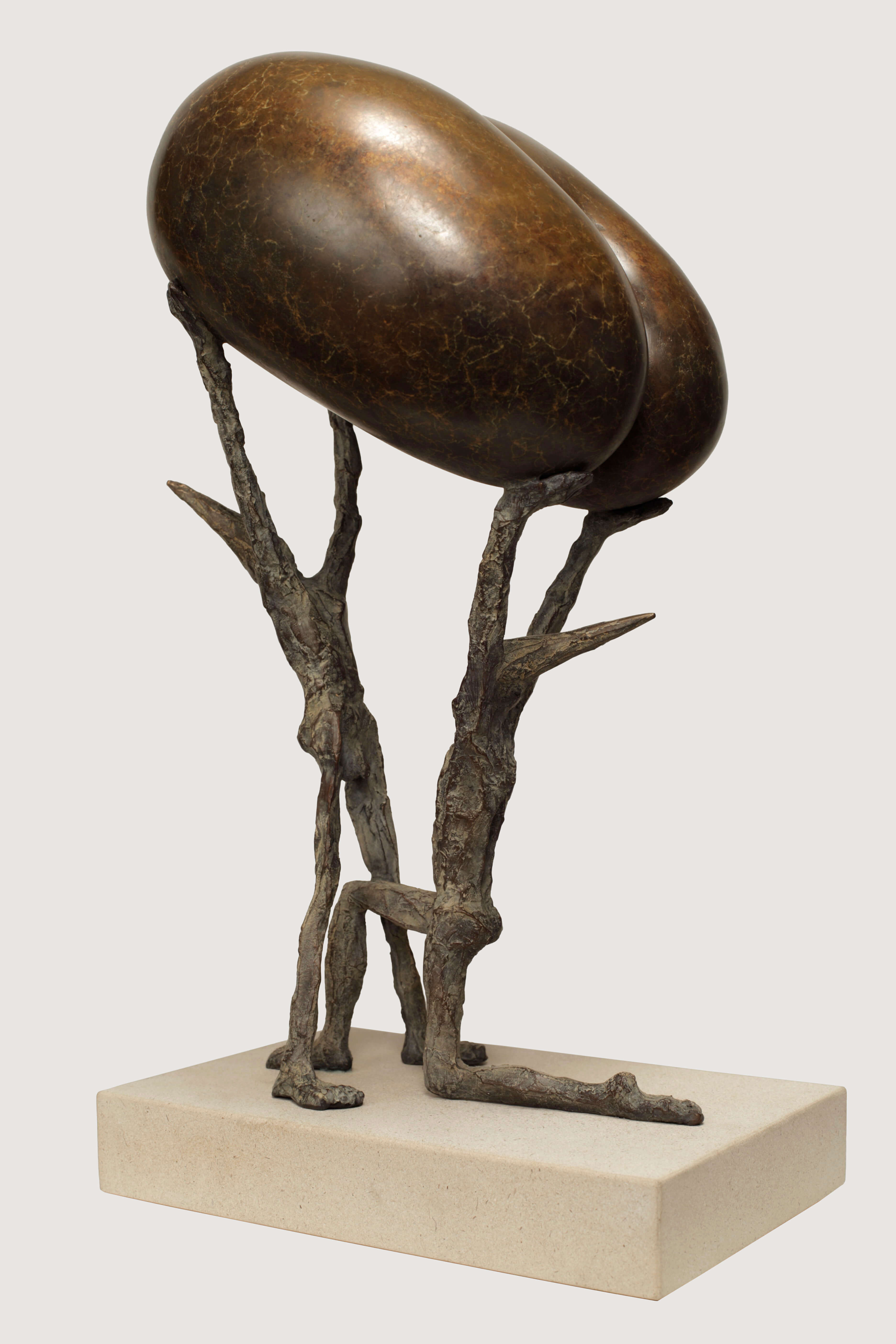 Fertilitas (H 41cm x 23cm x 20cm) Bronze 2013 copy