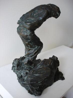 Forlorn (Bronze-Resin) 34cm x 28cm x29cm