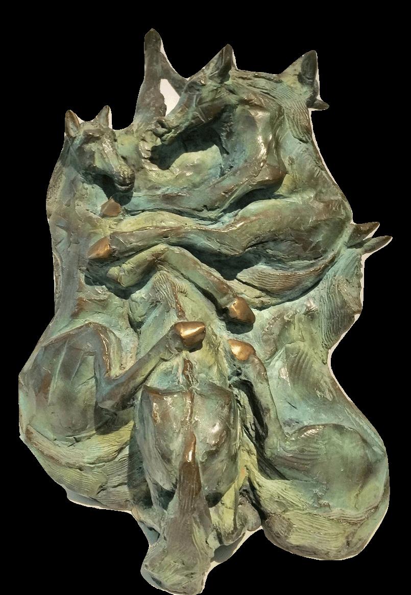 G7 (Bronze) 35cm x 26cm x 25cm