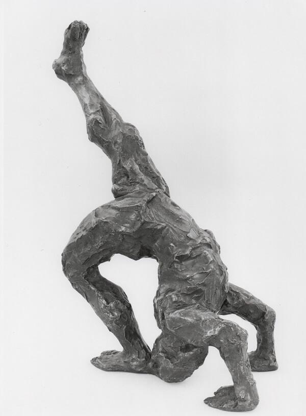 Handstand (Bronze-Resin) 57cm x 45cm x 25cm