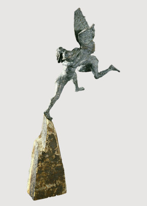 Jacob and Angel (Bronze) W101cm x H51cm