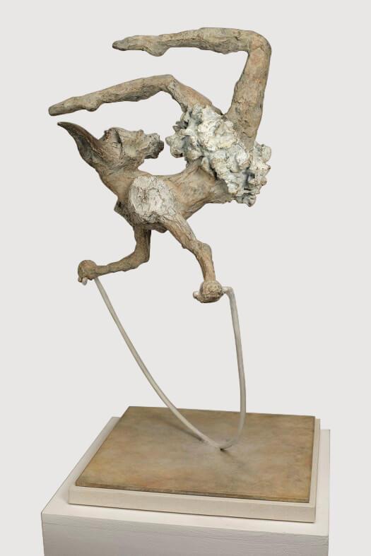 Joy (Bronze) 20cm x 10.5cm x 10.5cm