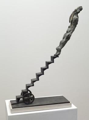 Leap of Faith (Bronze) W41cm x H68cm X D15cm