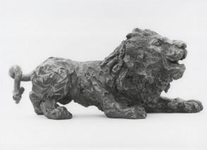 Lion (Bonze-Resin) 13cm x 8cm x 25cm