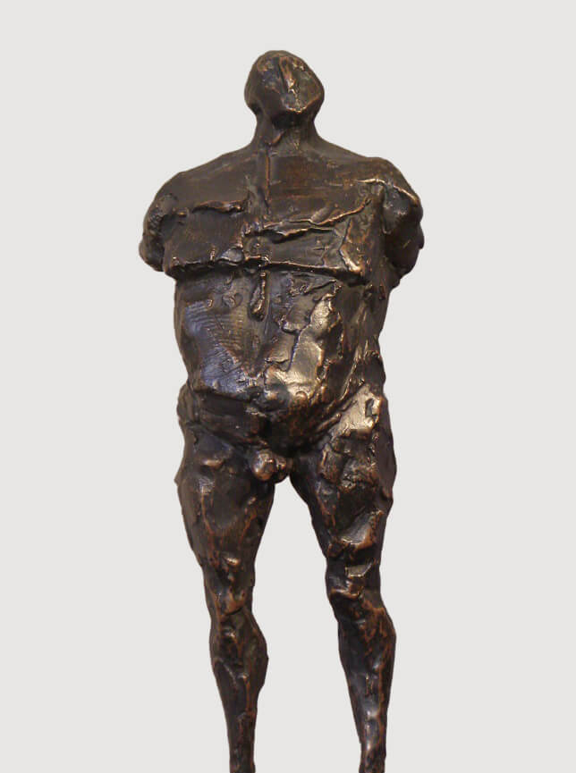 Man on Stilts (Bronze-Resin) 16cm x 160cm x 13cm copy