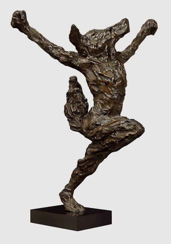Monsieur Renard (Bronze) W79cm x H107cm x D38cm