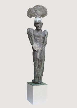 NEPTUNE (Bronze)-94cm-x-25cm-x-28cm