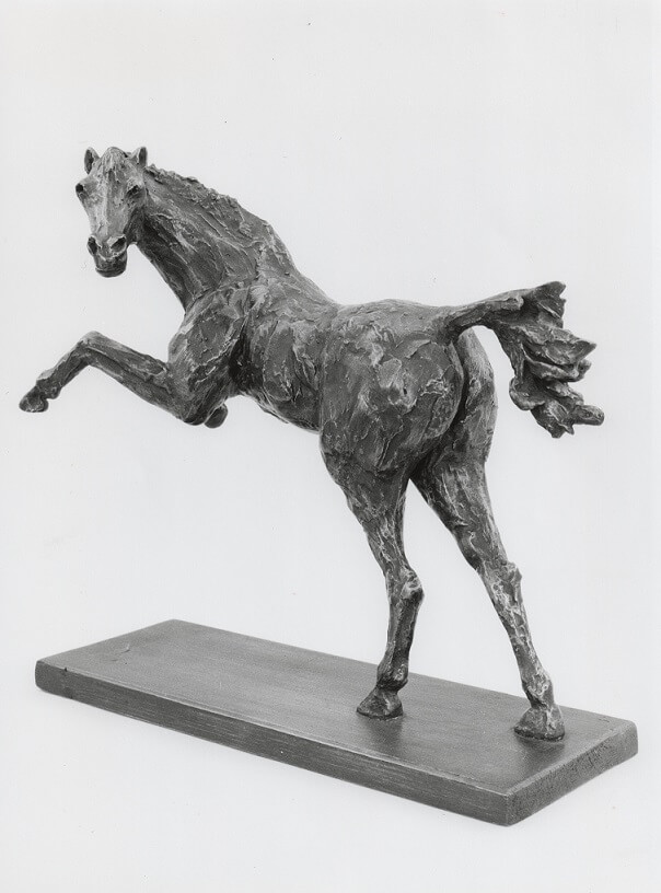 Rearing Horse (Bronze-Resin) 34cm x 35cm x 15cm