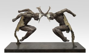 Stag Fight (Bronze) 145cm x 67cm x 40cm