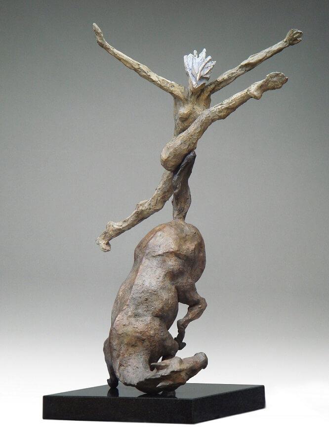 Steeplechase (Bronze) W50cm x H71cm x D30cm