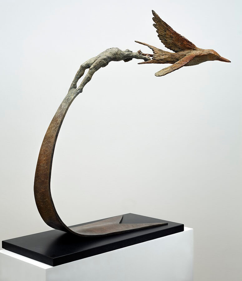 Take-Off (Bronze) 90cm-x-80cm-x-45cm