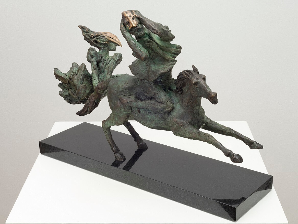 Tam O'Shanter (Bronze) 38cm x 51cm x 18cm