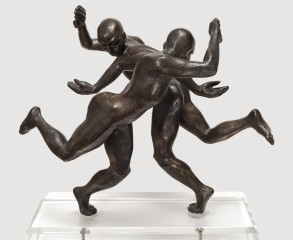 The Dancers (Bronze-Resin) 48cm x 44cm x 33cm copy