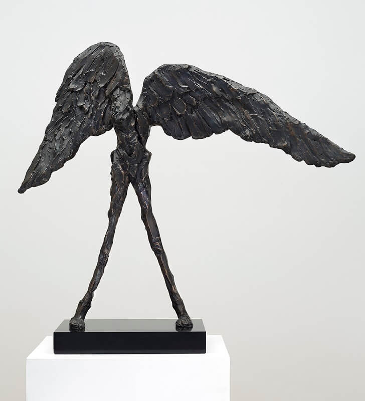 The Messenger (Bronze-Resin) 77cm x 80cm x 24cm