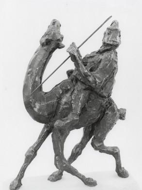 Tuareg (Bronze-Resin) 40cm x 30cm x 15cm