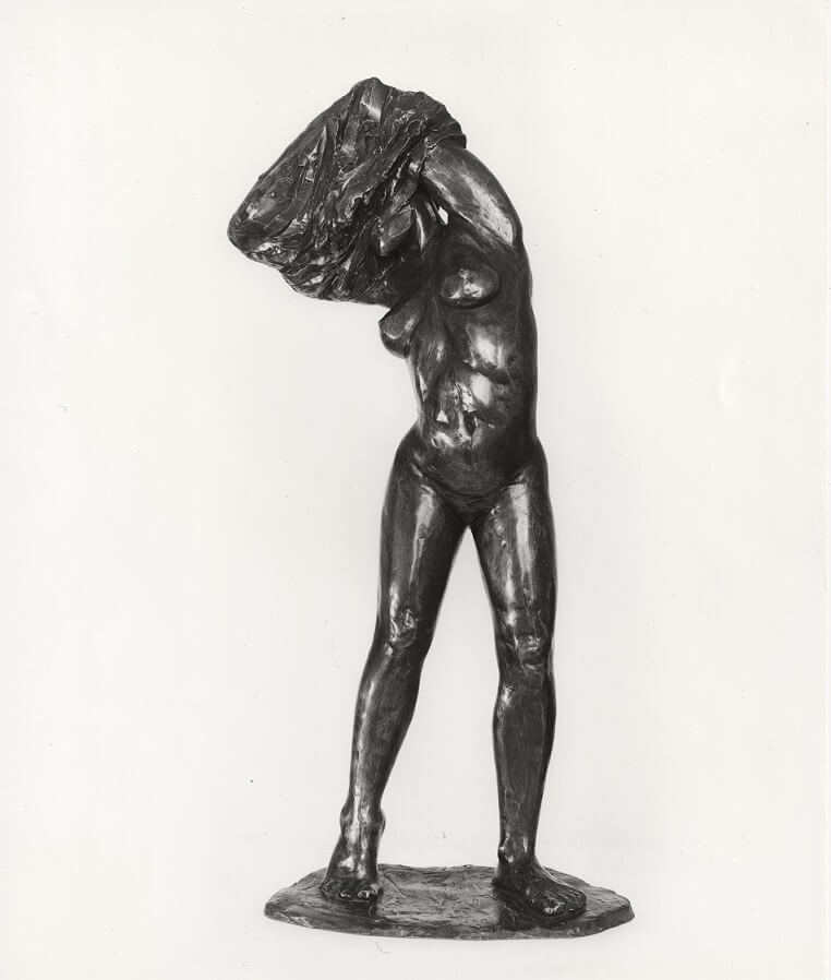 Undress (Bronze-Resin) 90cm x 50cm x 27cm