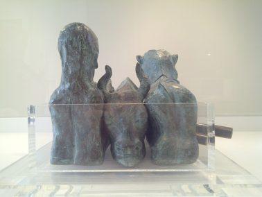 Unison One (Bronze) W50cm x H28cm x D34cm