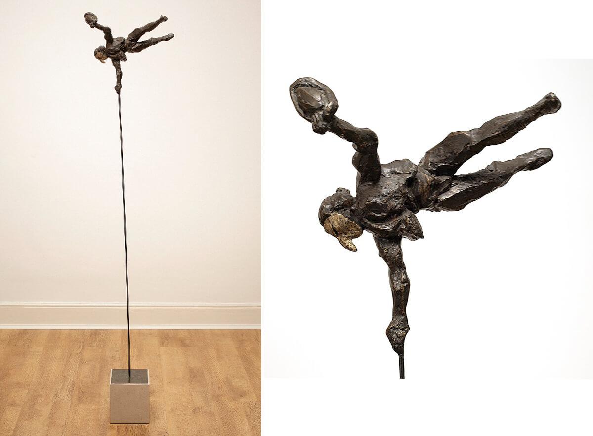 Matador -(Bronze-Resin) 160cm x 36cm x 30cm