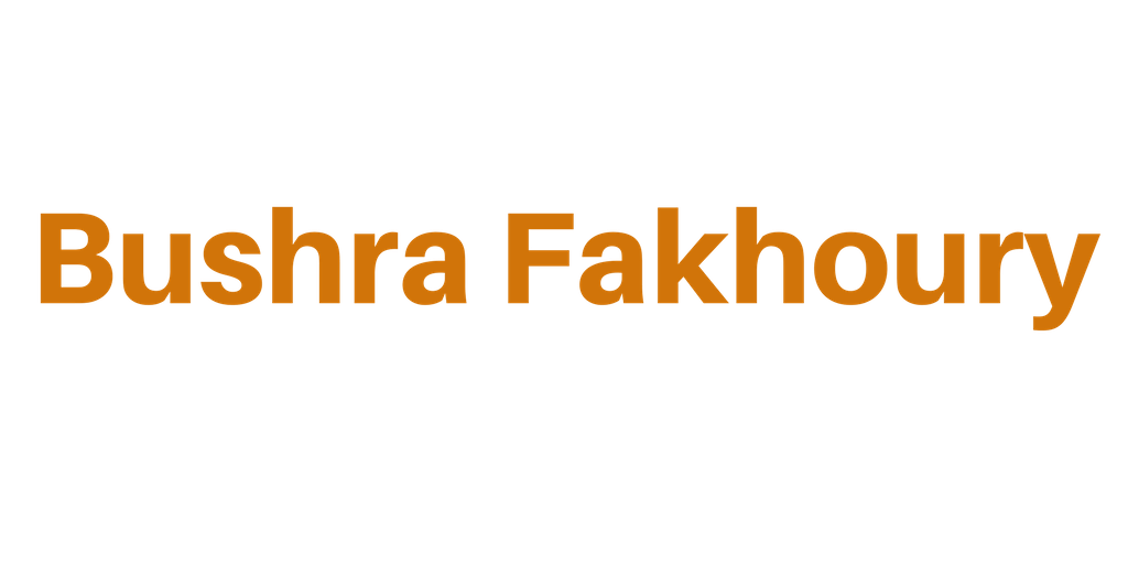 Bushra Fakhoury - Bushra Fakhoury PhD MRBS | British Artist