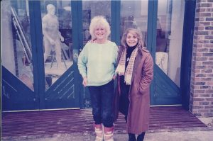Elisabeth Frink and Bushra Fakhoury