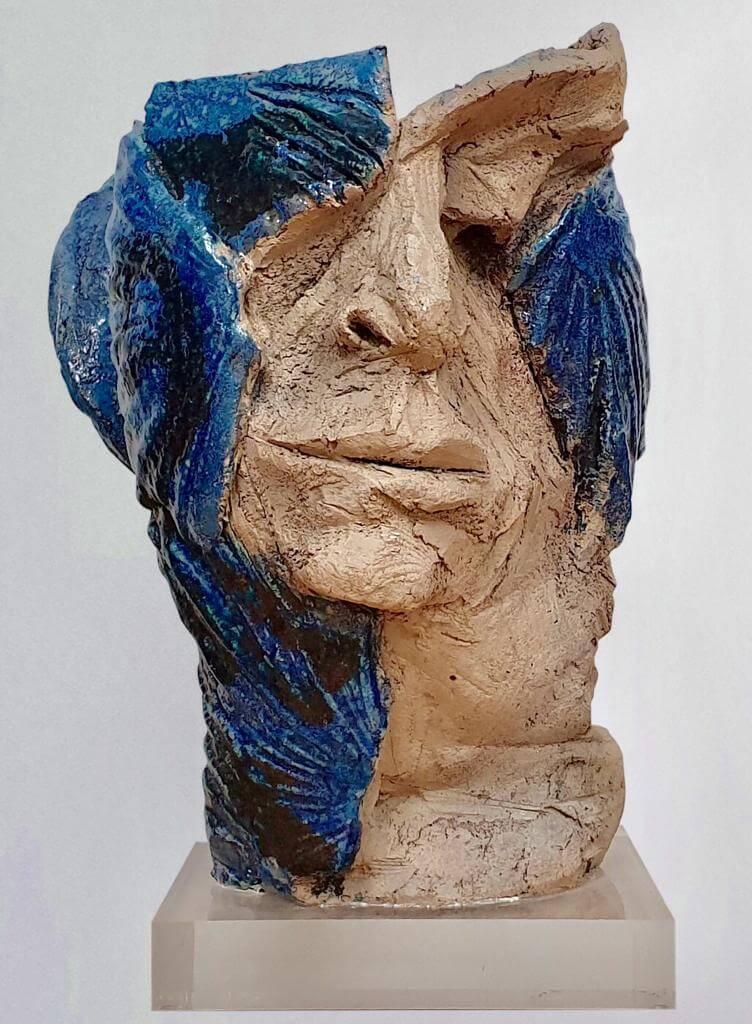 Contemplation - Ceramic Vase(H28cm-W20cm-D23cm)