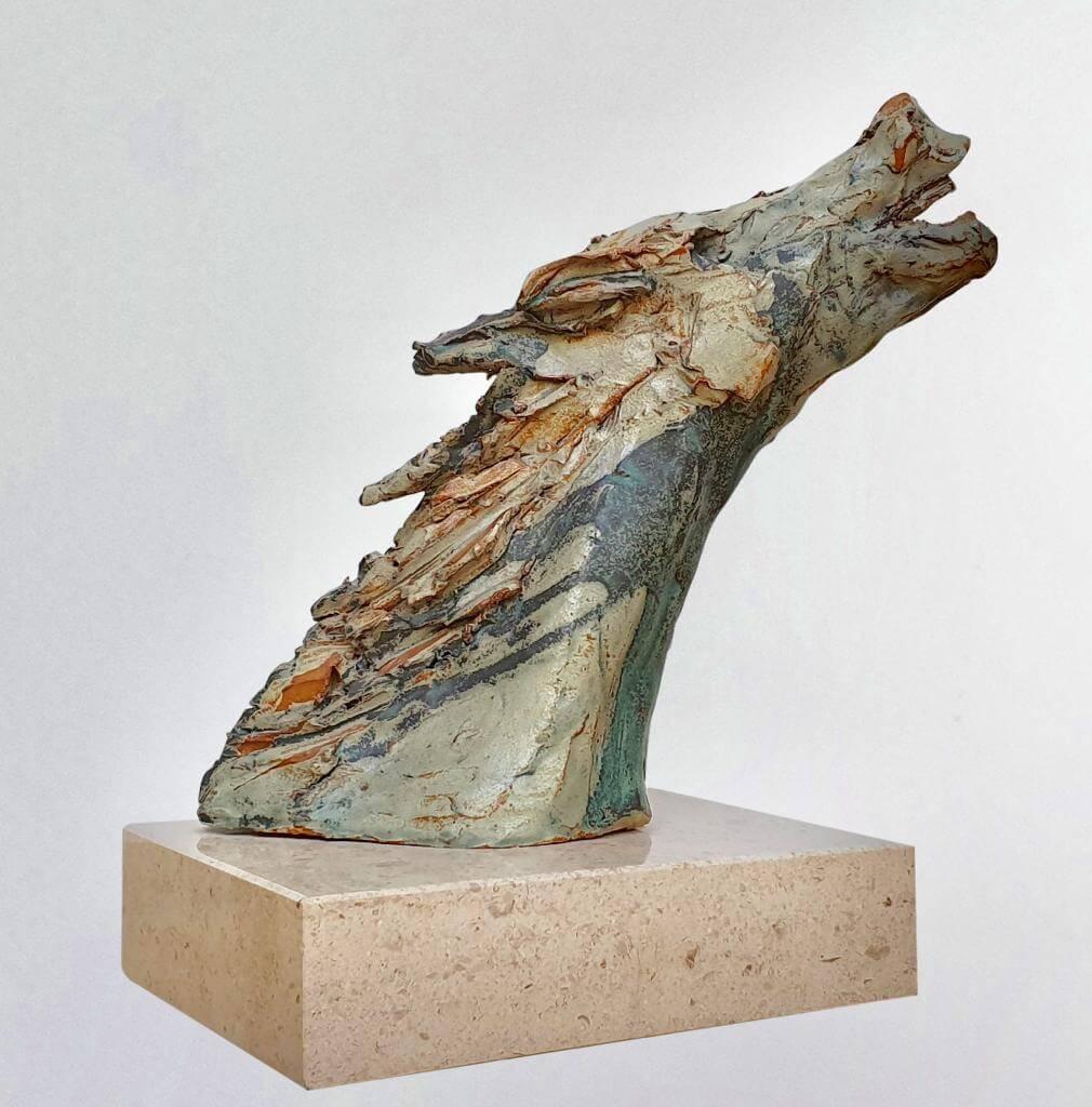 Horses Head - Ceramic (H30cm-W16cm-D26cm)
